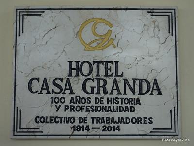 Hotel Casa Granda Sign 06-02-2014 16-04-36