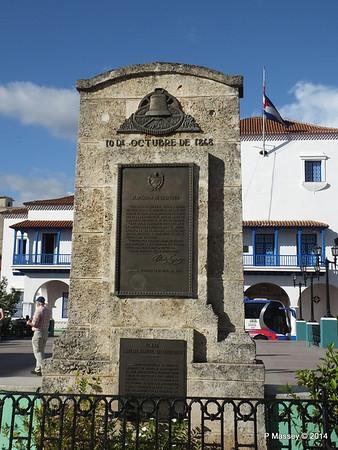 Memorial 10 October 1868 Plaza Carlos Manuel de Cespedes Santiago de Cuba 06-02-2014 16-00-58