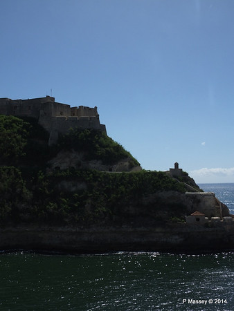 El Morro at the entrance to the Bay of Santiago de Cuba 06-02-2014 11-18-09