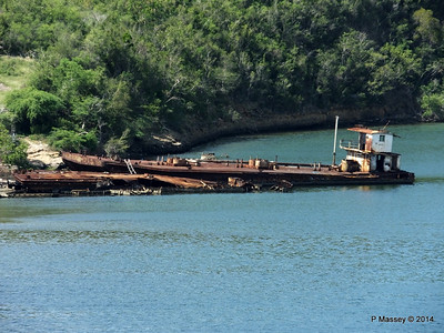 Wrecks W Bay of Santiago de Cuba maybe bunkering barges 06-02-2014 11-22-56