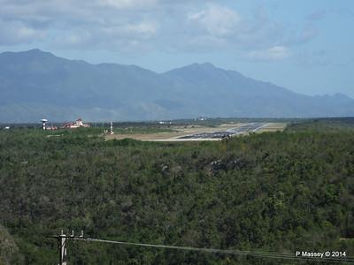 Santiago de Cuba Airport from El Morro 06-02-2014 14-15-51