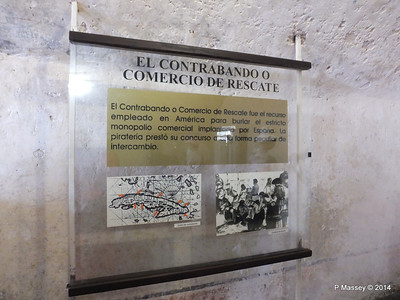 Interior Displays El Morro Santiago de Cuba 06-02-2014 14-02-08