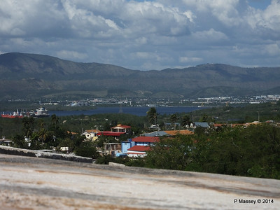 Inner Bay from El Morro Santiago de Cuba 06-02-2014 14-12-41
