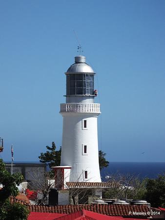 Lighthouse Faro del Morro Santiago de Cuba 06-02-2014 14-10-59