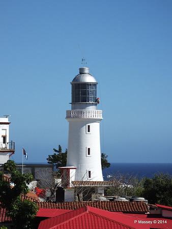 Lighthouse Faro del Morro Santiago de Cuba 06-02-2014 14-11-11