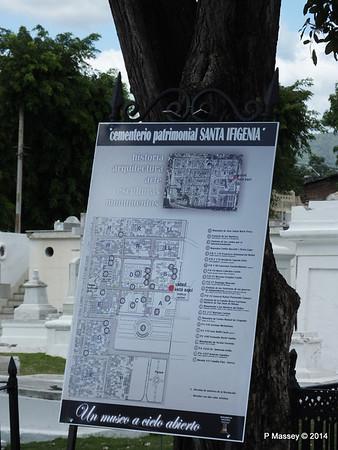 Layout of Santa Ifigenia Cemetery Santiago de Cuba 06-02-2014 13-00-51