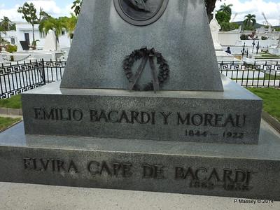 Mausoleum Emilio Bacardi & Elvira Cape Santa Ifigenia Cemetery 06-02-2014 13-04-55