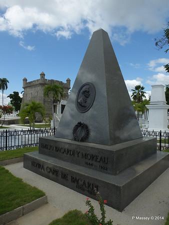 Mausoleum Emilio Bacardi & Elvira Cape Santa Ifigenia Cemetery 06-02-2014 13-04-26