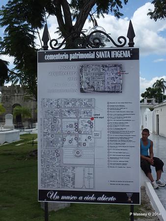 Layout of Santa Ifigenia Cemetery Santiago de Cuba 06-02-2014 12-58-16