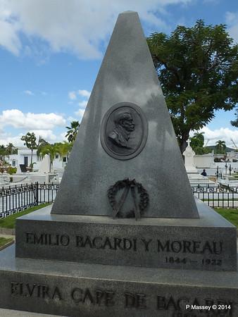 Mausoleum Emilio Bacardi & Elvira Cape Santa Ifigenia Cemetery 06-02-2014 13-04-58