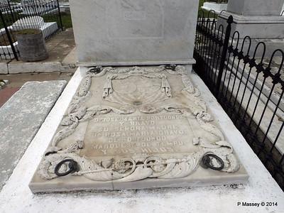 Jose Maria Portuondo Santa Ifigenia Cemetery Santiago de Cuba 06-02-2014 12-59-54