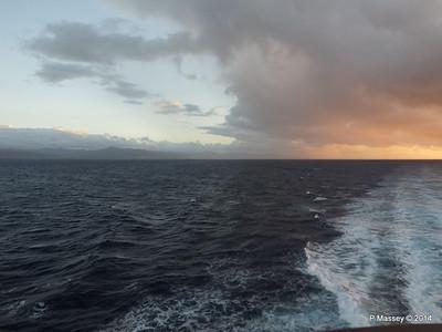 Sunrise Approaching Santiago de Cuba 06-02-2014 06-37-34