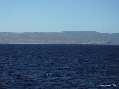 Coastline approaching Santiago de Cuba 06-02-2014 07-37-40