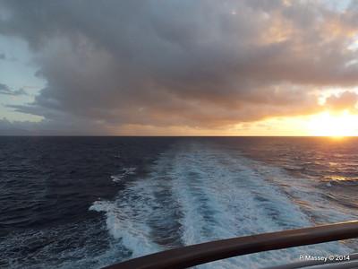 Sunrise Approaching Santiago de Cuba 06-02-2014 06-37-24