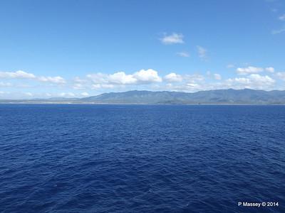 Coastline approaching Santiago de Cuba 06-02-2014 10-36-57