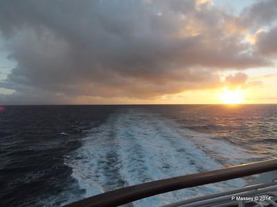 Sunrise Approaching Santiago de Cuba 06-02-2014 06-37-31