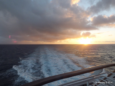 Sunrise Approaching Santiago de Cuba 06-02-2014 06-37-06