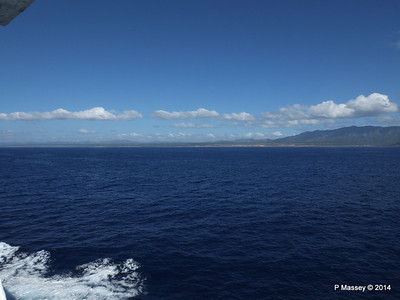 Coastline approaching Santiago de Cuba 06-02-2014 10-37-12