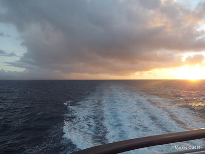 Sunrise Approaching Santiago de Cuba 06-02-2014 06-37-09