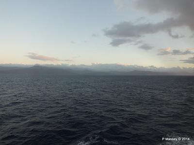 Cuban Coast Approaching Santiago de Cuba 06-02-2014 06-36-56