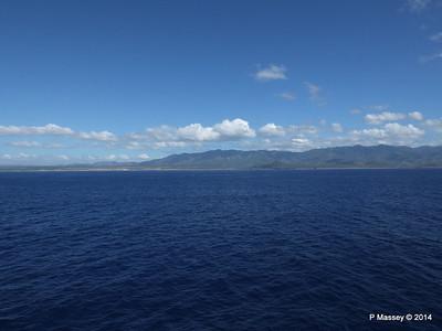 Coastline approaching Santiago de Cuba 06-02-2014 10-37-07