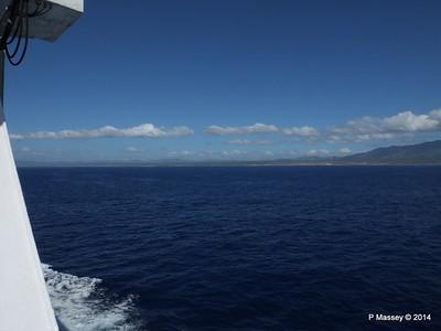 Coastline approaching Santiago de Cuba 06-02-2014 10-37-16