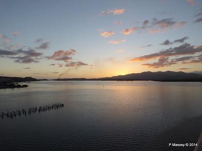 Sunset over Santiago de Cuba Bay 06-02-2014 17-58-14