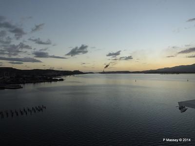 Sunset over Santiago de Cuba Bay 06-02-2014 18-02-05