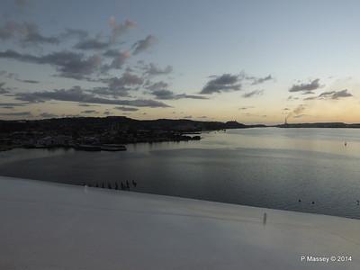 Sunset over Santiago de Cuba Bay 06-02-2014 18-00-50