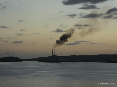 Sunset over Santiago de Cuba Bay 06-02-2014 18-02-02