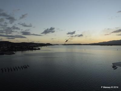 Sunset over Santiago de Cuba Bay 06-02-2014 18-01-58