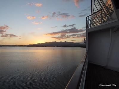 Sunset over Santiago de Cuba Bay 06-02-2014 17-58-12