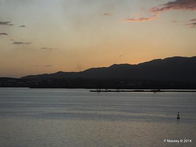 Sunset over Santiago de Cuba Bay 06-02-2014 18-00-57