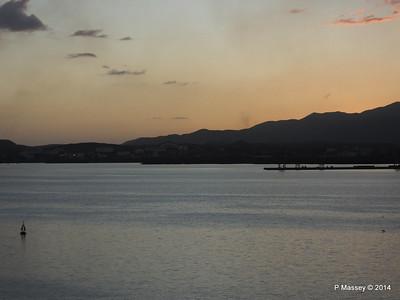 Sunset over Santiago de Cuba Bay 06-02-2014 18-01-02