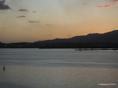 Sunset over Santiago de Cuba Bay 06-02-2014 18-01-00