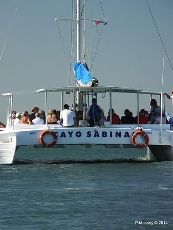 CAYO SABINAL departing Antilla 05-02-2014 09-37-07