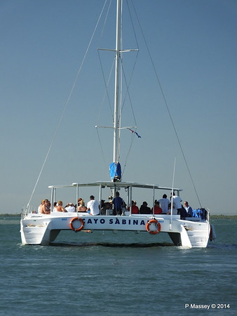 CAYO SABINAL departing Antilla 05-02-2014 09-37-03