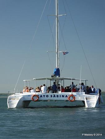 CAYO SABINAL departing Antilla 05-02-2014 09-36-59