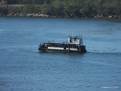 Maria Luisa crossing the Pasacaballos Strait 08-02-2014 10-12-48