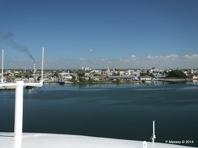 Approaching Cienfuegos on LOUIS CRISTAL 08-02-2014 10-39-42