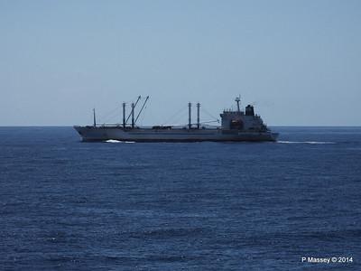 FRIO IONIAN having departed Santiago de Cuba 06-02-2014 11-09-56