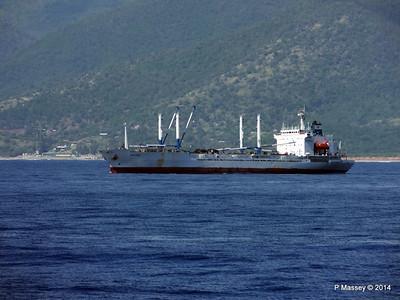 FRIO IONIAN having departed Santiago de Cuba 06-02-2014 11-03-59