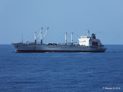 FRIO IONIAN having departed Santiago de Cuba 06-02-2014 11-07-29