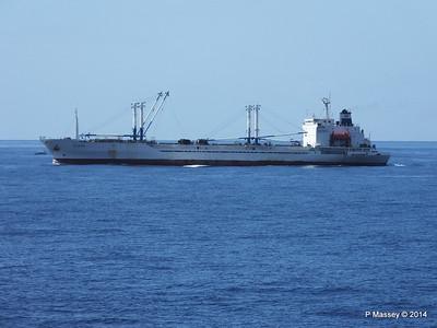 FRIO IONIAN having departed Santiago de Cuba 06-02-2014 11-08-26