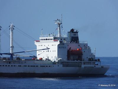 FRIO IONIAN having departed Santiago de Cuba 06-02-2014 11-07-45