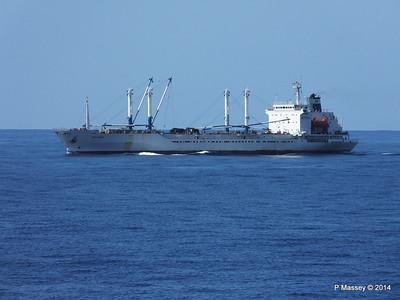 FRIO IONIAN having departed Santiago de Cuba 06-02-2014 11-07-26