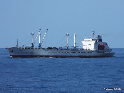 FRIO IONIAN having departed Santiago de Cuba 06-02-2014 11-07-22
