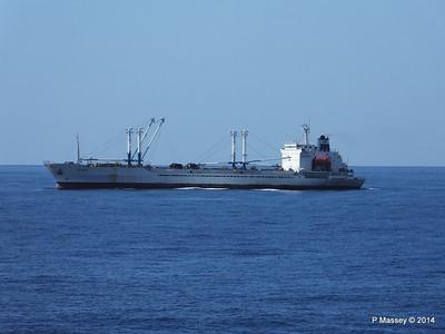 FRIO IONIAN having departed Santiago de Cuba 06-02-2014 11-08-05