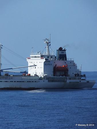 FRIO IONIAN having departed Santiago de Cuba 06-02-2014 11-07-56