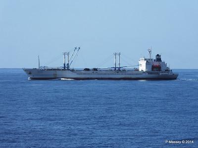 FRIO IONIAN having departed Santiago de Cuba 06-02-2014 11-08-22